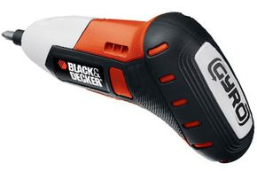 The GYRO, from Black & Decker, is the world's first (and only, as of early 2013) motion-activated power tool. Want to learn more? Check out these must-have power tools.