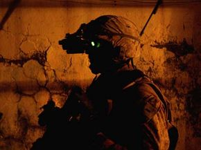 Night vision goggles are just one piece of military gadgetry that could benefit from motion-charged batteries.