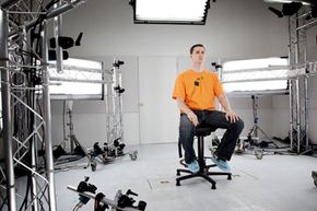 MotionScan is out to improve gaming facial expressions. Actors sit in the studio, where dozens of cameras capture 3-D video of every facial detail.