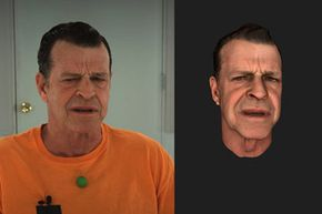 It's almost the real thing. Here's an example of the high level of detail that MotionScan can capture.