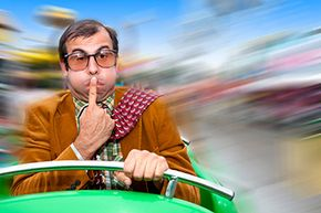 You can get motion sickness in a car, on an amusement park ride, from watching a 3D movie or even looking through a microscope.