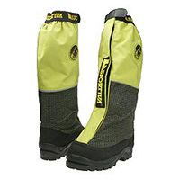 These high-altitude double boots have an inner and outer boot and gaiters.