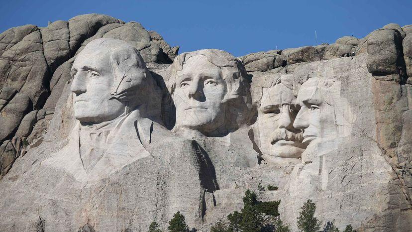 Mt. Rushmore, secret chamber