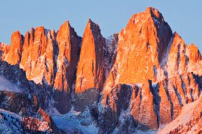 Mount Whitney is the tallest peak in the continental United States. See more national park pictures.