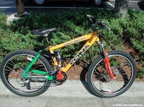 Mountain bikes are very popular and boast some pretty cool technology. See more extreme sports pictures.