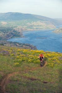 Image Gallery: National Parks Mountain bike trails can be challenging, but sometimes you get to enjoy a beautiful landscape like this one. See pictures of national parks.