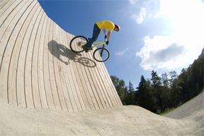If you have a couple of tricks up your sleeve, you may want to try urban or freestyle mountain biking.
