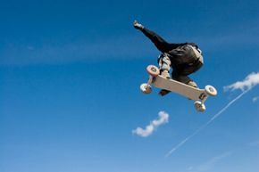 Mountain boards offer snowboarders the chance to catch some air once the weather warms up. See more pictures of extreme sports.