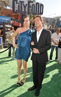 Movie make-up artists can only work on certain areas. They were responsible for turning Edward Norton into the incredible hulk. Norton, left, is shown at the premiere with co-star Liv Tyler.