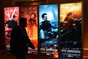 The orange-and-blue color scheme is so overused in movie posters because the complementary colors create eye-catching contrast.