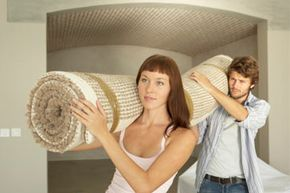 Get your rugs professionally cleaned before you move -- they'll be rolled up, fresh and ready to go.