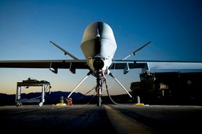 The MQ-9 Reaper drone can be piloted remotely or can fly autonomously.