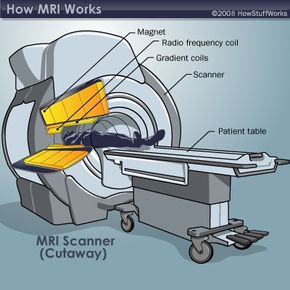The components of an MRI system