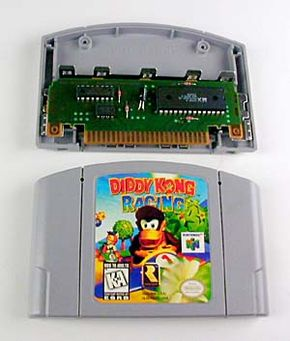 Cartridges are unique to Nintendo 64. They offer fast load but small capacity. They are more durable than CDs.