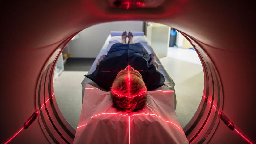 Nuclear Medicine PET Scan of Patient