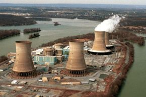 Image Gallery: Nuclear Meltdown Disasters Reactor 2 sits dormant in the foreground at Pennsylvania's Three Mile Island nuclear power plant. See more pictures of nuclear meltdown disasters.