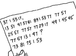 Creating a secret code is one way to use numbers.