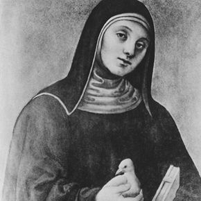 Saint Scholastica, who lived from 480 to 547 A.D., is the patron saint of nuns.