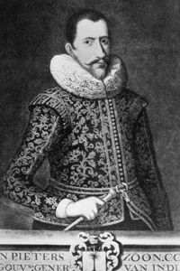 Jan Pieterszoon-Coen was a ruthless commander in the VOC who ruled the local populations with an iron fist.