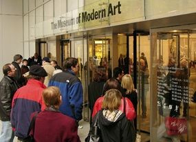 The Museum of Modern Art isn't open on Thanksgiving Day, but there are others that you can visit.