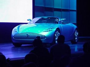 The Buick concept car