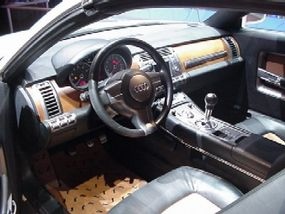 While the outside of the Steppenwolf is off-road tough, the inside is one of luxury.