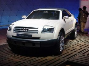 Audi's Project Steppenwolf Concept
