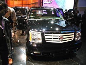 The Cadillac Escalade EXT has a similar styling to the Escalade SUV.