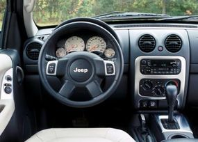 The interior is simple, with stainless steel accents.