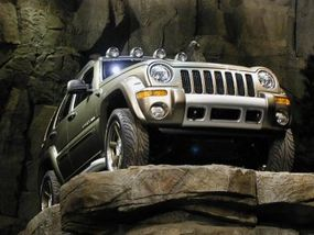 The Renegade, a demonstration of how the Jeep Liberty can be customized.