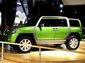 The Isuzu GBX Concept SUV