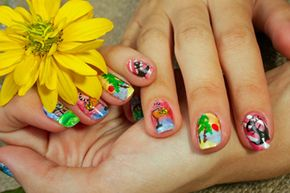 Nail strips allow you to have a little bit more fun than your solid polish.