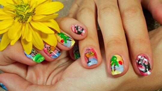 Accessories: Nail Stickers vs. Polish Strips