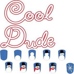 Paint the cool dude nail art design in nine steps.