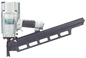 Some nail guns can launch nails at 1,400 feet per second. Learn all about pneumatic and combustion nailers.