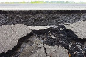One of the hopes of nanotechnology researchers is to develop construction materials to make the roads of the future able to self-repair. No more potholes!