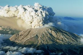 While humans haven't been able to control nano-sized particles until quite recently, nanoparticles have always existed. They are present in volcanic ash, like the plumes that blasted from Mount St. Helens in 1980.