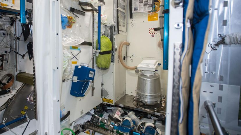 ISS bathroom