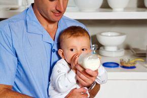 NASA's improvements to baby formula help babies grow stronger.