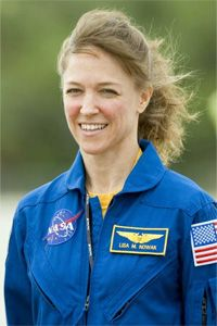 Lisa Nowak, the mission specialist who launched adult diapers into the spotlight