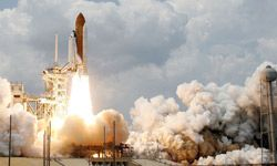 Once you get past this blast-off image, NASA is actually making major environmental contributions.