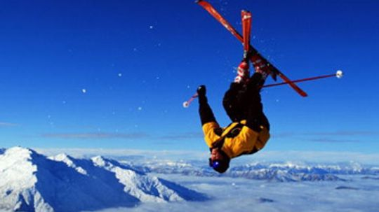 How did NASA make snow skiing safer?