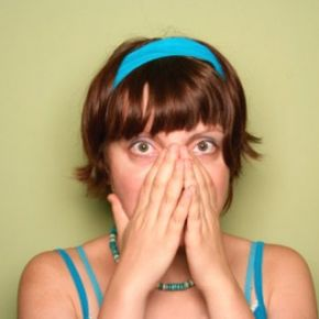 Nasal allergy symptoms include sneezing, runny or stuffy nose, itching and dark circles under the eyes.