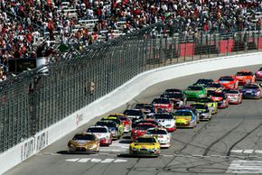 How does technology from a race car transfer to the car in your driveway? See more NASCAR pictures.