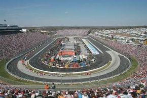 """Martinsville Speedway in Martinsville, Va., is known as """"The Paperclip."""""""