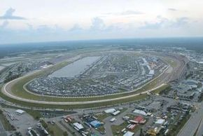 Daytona International Speedway plays hosts to the Daytona 500 -- a race that almost every driver would most like to win.