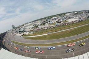 "Originally paved with bricks, the Indianpolis Motor Speedway is called ""The Brickyard."""