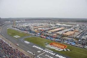 Atlanta Motor Speedway is one of the fastest tracks on the NASCAR circuit.