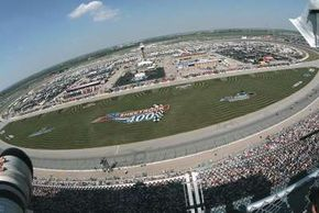 The Chicagoland Speedway is the second-newest speedway on the NASCAR circuit, after the track in Kansas.