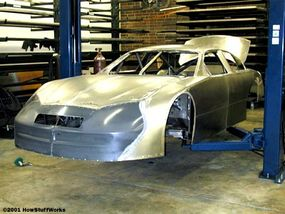 A body that is almost ready to be painted